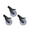 R2400/R3500 125mm Wheel Kit Pack of 3