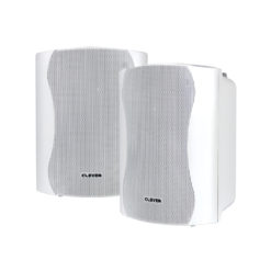 WPS 25T White 100V Weatherproof Speakers (Pair)