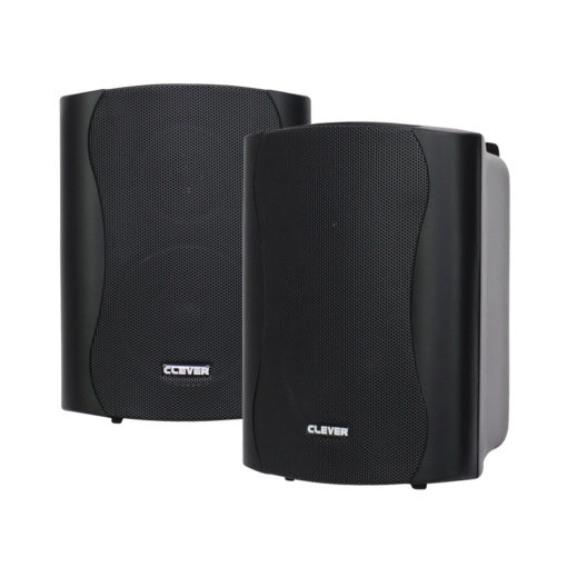 WPS 35T Black 100V Weatherproof Speakers (Pair)