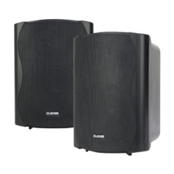 WPS 50 Black 8 Ohm Weatherproof Speakers (Pair)