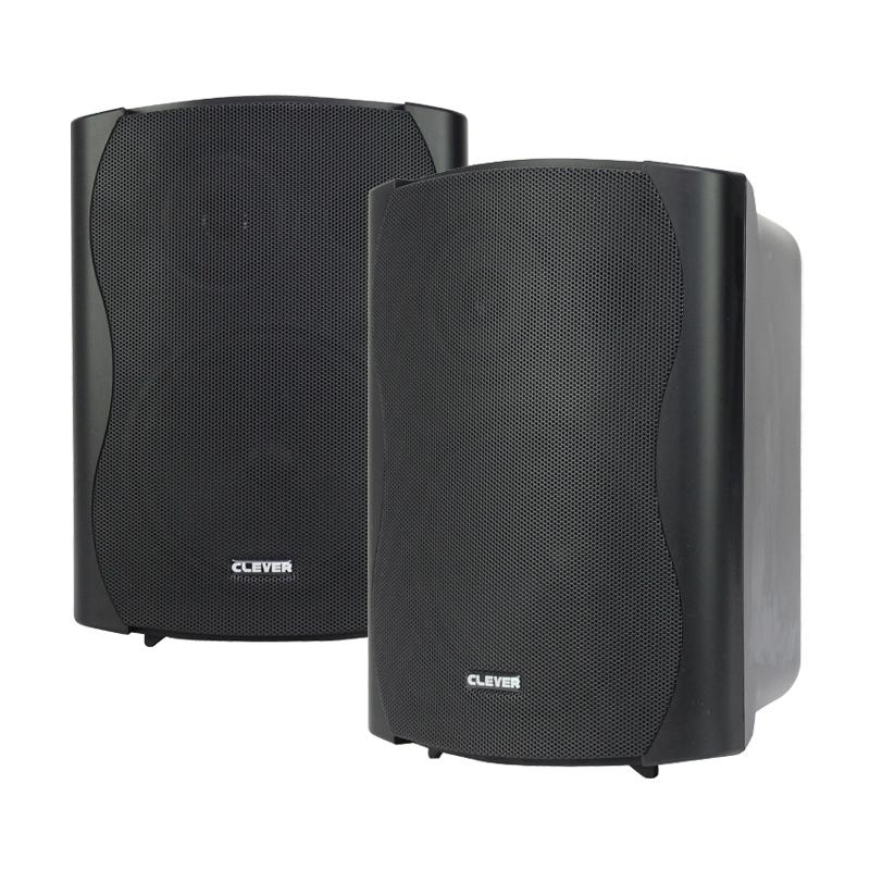 WPS 50 Black 8 Ohm Weatherproof Speakers (Pair)