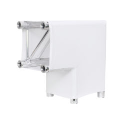 White 2 Way 90 Degree Corner Quad Truss Sleeve/Sock