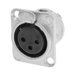 XLR 3-Pin Female Chassis Connector NC3FDL1