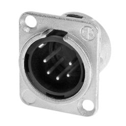 XLR 5-Pin Male Chassis Connector NC5MDL1
