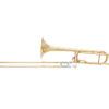 DIMAVERY TT-310 Trombone, open-wrap, gold