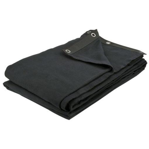 Dekomolton Backdrop, Black 300 x 300cm