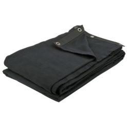 Dekomolton Backdrop, Black 400 x 300cm