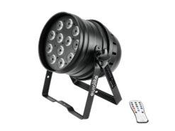 EUROLITE LED PAR-64 QCL 12x8W floor bl