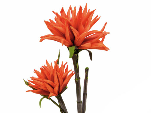 EUROPALMS Dahlia (EVA), orange, 100cm