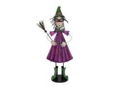 EUROPALMS Little Witch, Metal, 102cm purple