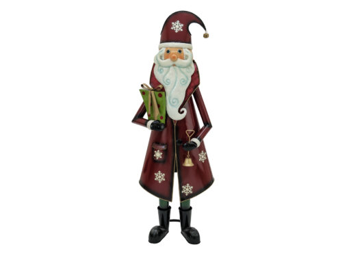 EUROPALMS Santa Claus, Metal, 150cm, red