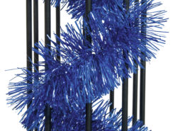 EUROPALMS Tinsel metallic, blue, 7,5x200cm