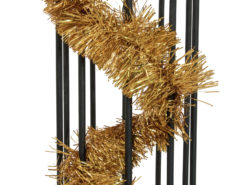 EUROPALMS Tinsel metallic, gold, 7,5x200cm