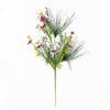 EUROPALMS Wild Flower Spray, Pink