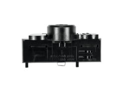 EUTRAC Multi adapter, 3 phases, black