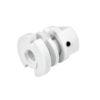 EUTRAC Retaining collar for multi adapter, white