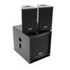 OMNITRONIC MAXX-1000DSP MK2 2.1 Active System