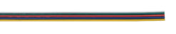 RGBW flat cable