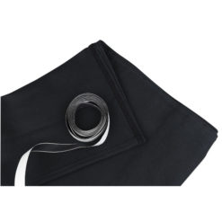 Skirt for Stage-elements 6 m (P) - 40 cm (H), Nero