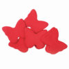 TCM FX Slowfall Confetti Butterflies 55x55mm, red, 1kg