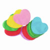 TCM FX Slowfall Confetti Hearts 55x55mm, blue, 1kg