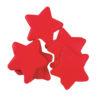 TCM FX Slowfall Confetti Stars 55x55mm, red, 1kg