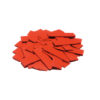 TCM FX Slowfall Confetti rectangular 55x18mm, red, 1kg