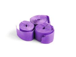 TCM FX Slowfall Streamers 10mx1.5cm, purple, 32x
