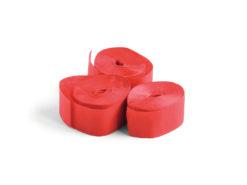 TCM FX Slowfall Streamers 10mx1.5cm, red, 32x