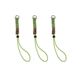 Ergodyne Tool Tails, 29cm Lime (Set of 3)