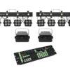 EUROLITE Set 2x LED KLS-180 + 2x LED WF-40 + DMX LED Color Chief