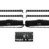 EUROLITE Set 4x LED BAR-12 QCL RGBW + 2x Soft Bags + Controller