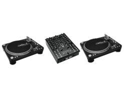 OMNITRONIC Set CMX-2000 + 2x DD-5220L