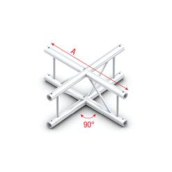4-Way vertical Taglio a 4 vie verticale