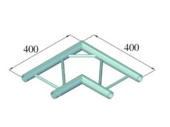 ALUTRUSS DECOLOCK DQ2-PAC21H 2-way Corner 90°