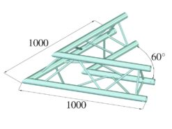 ALUTRUSS TRILOCK 6082AC-20 2-Way Corner 60°