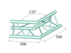 ALUTRUSS TRILOCK 6082AC-23 2-Way Corner 135°