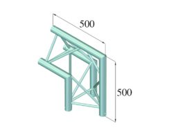 ALUTRUSS TRILOCK 6082AC-24 2-Way Corner 90° /