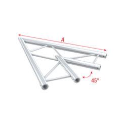 Corner 45° horizontal Spigolo tagliato a 45° orizzontale