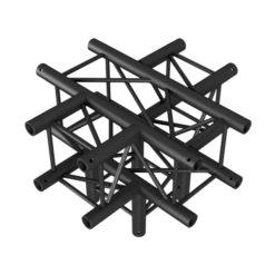 Cross + Down 5-way NERO, traliccio Pro-30 quadrato F