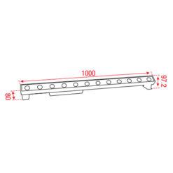 Cupar-100 3.000 K 230Vac 1000mm 30°