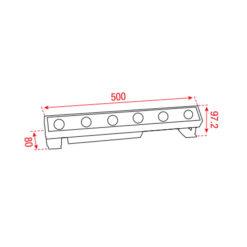 Cupar-50 3.000 K 230Vac 525mm 30°