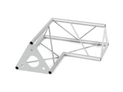 DECOTRUSS SAC-21 corner 2-way 90° silver