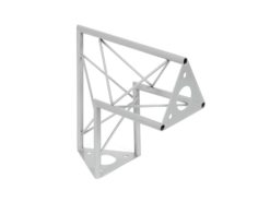 DECOTRUSS SAC-24 Corner / 90° silver