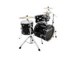 DIMAVERY DS-610 Drum Set, Black Sparkle