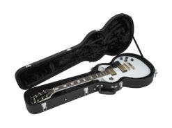 DIMAVERY Form case E-guitar LP, black