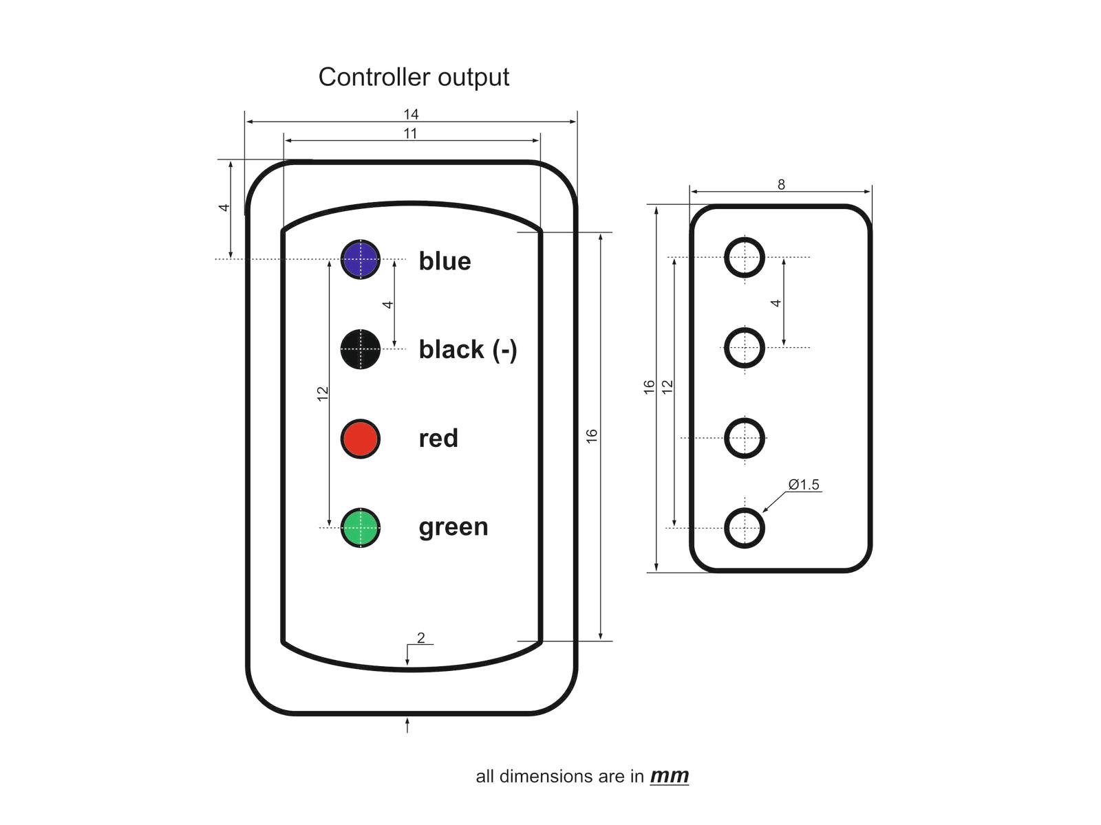 Eurolite Controller Pro With Dmx For Led Neon Flex 230v