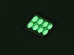 EUROLITE LED IP FL-8 green 60°