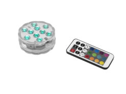 EUROLITE LED Puck Light multicolor IP68