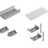 EUROLITE Mounting set U-profile 20mm for LED Strip